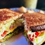 Salad sandwich.