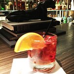 House special cocktail: Negroni