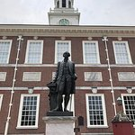 Independence Hall as seen from the north (Chestnut Street)