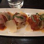 cinghiale (wild boar) meatballs