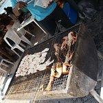Langouste et lambis au grill