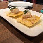 Prawns and ravioli must try this dish