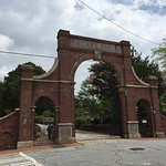 Oakland Cemetery entrance