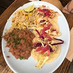 Blue Plate Taco Photo
