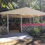 Marquee in grounds for functions and events