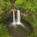 Wailua Falls - the Fantasy Island waterfall