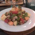 Warm Prawn Salad