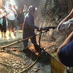 Bilde fra Kimberley's Underground Mining Railway