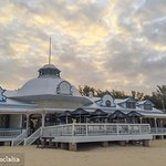 Historic Santos Pavilion & home to Jackal on the Beach