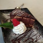 Tarta de triple chocolate