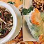 Pho and Fresh Spring Rolls