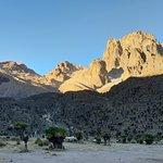 Mt Kenya's many peaks