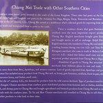 El importante comercio del Reino de Lanna con otras ciudades asiáticas.