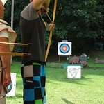 Robert the Archery Master at work