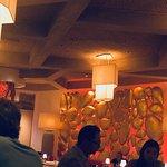 the restaurant decor