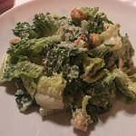Their famous Caesar salad