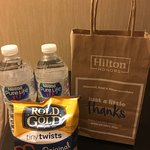 Free gift bag for Hilton Gold members
