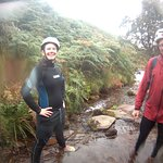 Gorge Walking Near Snake Pass
