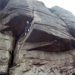 Rock Climbing in Stanage