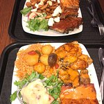Mixed Combos: Chorizo with Chicken and Pork Ribs and chicken