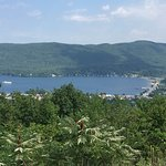 Lake George Village from Prospect Mountain