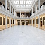 The Hall of Sculpture is a beautiful space within the museum that often hosts our weekly yoga cl