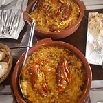 Arroz Caldoso with Lobster