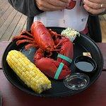 Lobster dinner at nearby restaurant