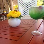 A drink at the table: nice flavor