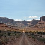 Shafer Trail from the ground