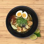 Shrimp Udon Soup