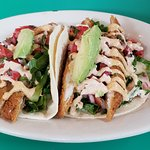 This is the fish taco plate.