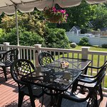 Dine inside or out. Have your next small function here overlooking beautiful peaceful gardens.