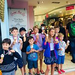 Winning ice creams for Regatta Winners... thank you Trudi & Malcom. Love your ice creams especia