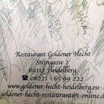 Foto di Restaurant Goldener Hecht