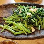 空芯菜の炒め タイ風