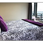 Breakthrough room with views to Tasman Sea