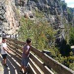 Sentiero nella Roccia per San Romedio照片
