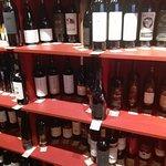 Wine selection at the Hemingway restaurant in Plovdiv