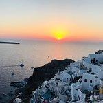 Foto Sunset in Oia