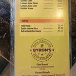 Φωτογραφία: Byron's Backribs- Homesite