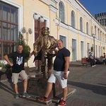 Foto Father Fyodor Statue