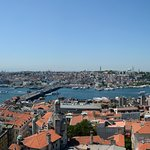 Panoramic image from Galata Tower