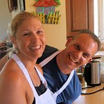 """Matt and Deby - Visiting for a """"threepeat"""".  Great guests who are now good friends.  #IloveAntig"""