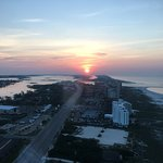 Sunrise over Orange Beach