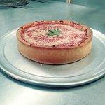 Deep dish pizza WOW!!!