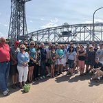 Customized tour for a great local business group.