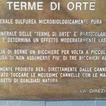 Foto van Terme di Orte