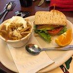 Fantastic Soup and half sandwich