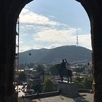 The View is fantastic from Metekhi, its situated the centre of Tbilisi.Its included Must seen si